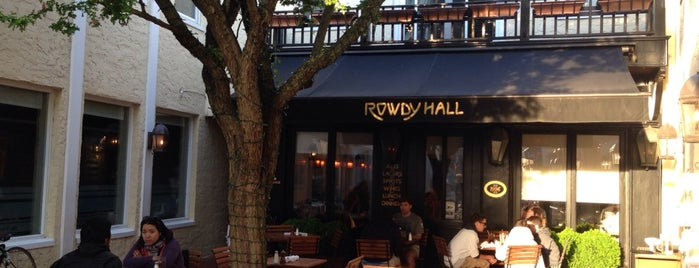 Rowdy Hall is one of Top Family-Friendly Restaurants in the Hamptons.