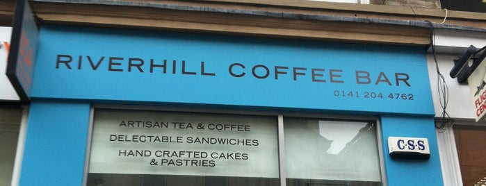 Riverhill Coffee Bar is one of Glasgow.