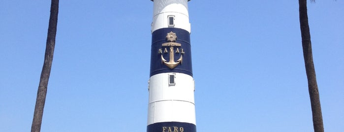 Faro de la Marina is one of Peru/ Lima/ Miraflores.