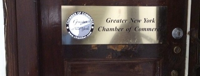 Greater New York Chamber of Commerce is one of 123 Williams st NYC ny.