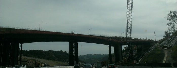 Mulholland Bridge is one of Los Angeles.