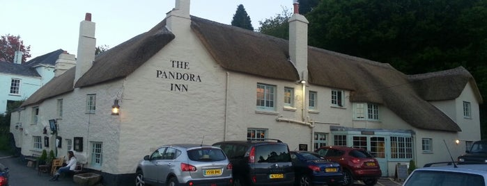 The Pandora Inn is one of South West UK.