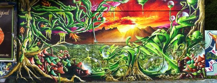 Graffiti Wand is one of Lieux qui ont plu à Dieter.