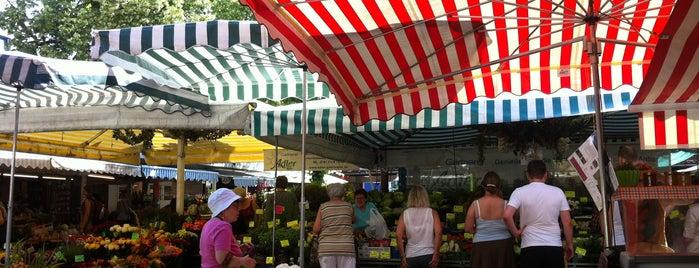 Pasinger Viktualienmarkt is one of Märkte in München.
