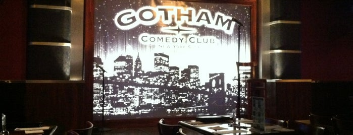 Gotham Comedy Club is one of Best 200 Spots to Eat in Manhattan.