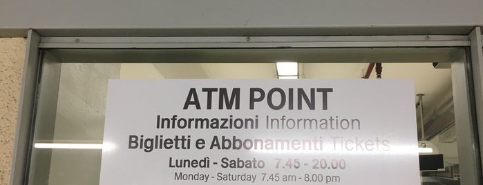 ATM Point Cadorna is one of Wi-Fi Milano.