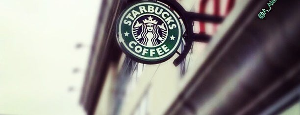 Starbucks is one of Adam's Liked Places.