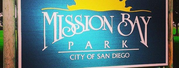 Misson Beach, San Diego is one of California.