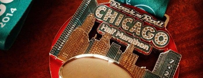 Chicago Rock 'n' Roll Half Marathon & 5K is one of Dawn Nicole'nin Beğendiği Mekanlar.