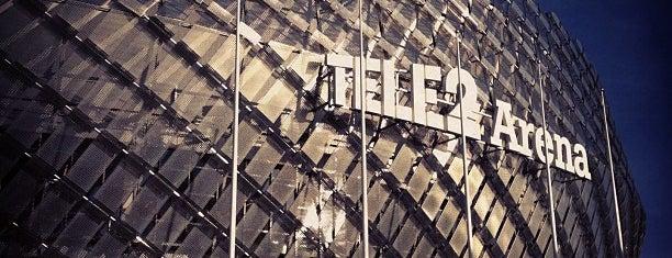 Tele2 Arena is one of Posti che sono piaciuti a 4sq SUs Sweden.
