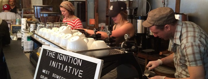 Birch Coffee is one of Nova York.