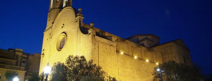 Església de Santa Maria i Sant Nicolau is one of Calella Renaixentista / Renacentista / Renaissance.