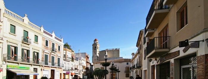 Plaça de l'Ajuntament is one of Calella Renaixentista / Renacentista / Renaissance.
