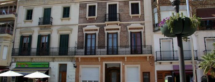 Antiga Casa Roger is one of Calella Renaixentista / Renacentista / Renaissance.