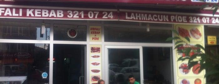 Urfalı Kebap Pide Ve Lahmacun Salonu is one of Burak'ın Beğendiği Mekanlar.