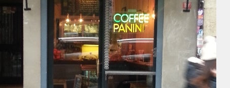 Milkbar Coffee & Panini is one of istanbul.