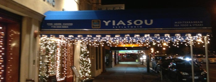 Yiasou is one of Sheepshead Bay.