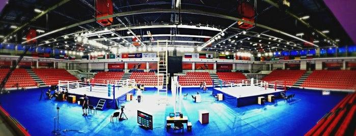 Центр Бокса И Настольного Тенниса is one of Locais curtidos por Василий.