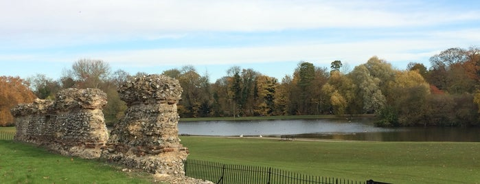 Roman Wall of St Albans is one of Lieux qui ont plu à Carl.
