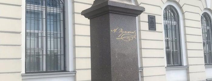 Institut Of Russian Literature is one of 🇷🇺 St. Petersburg.