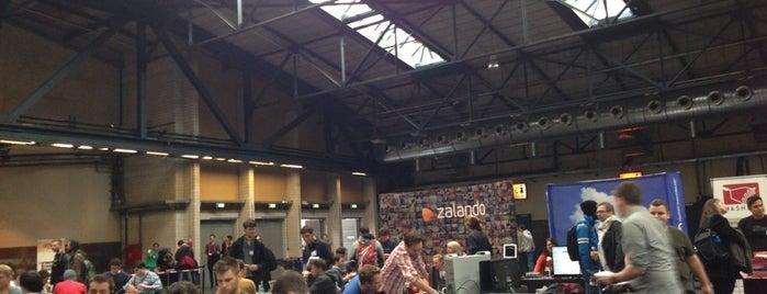Disrupt Europe 2013 Hackathon is one of Sven'in Kaydettiği Mekanlar.