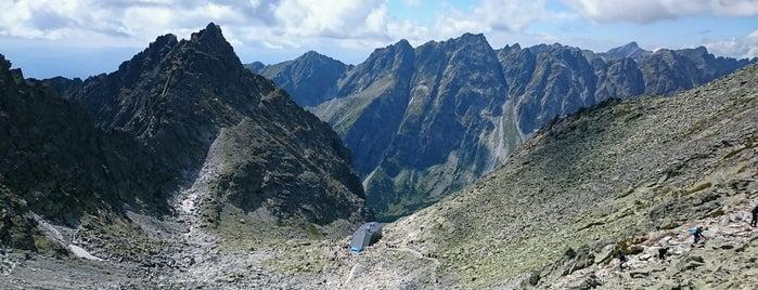Sedlo Váha (2339,7 m n. m.) is one of Turistické body v TANAP-e.
