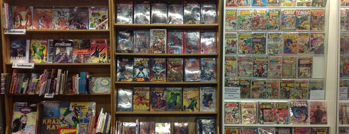 JHU Comic Books is one of The Ultimate Guide to Shopping in NYC.