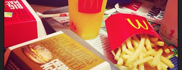 McDonald's is one of Comida.