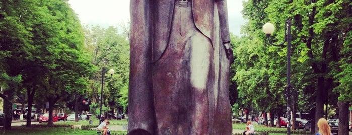 Памятник Ивану Франко / Monument to Ivan Franko is one of Одесская Гилелиада 2014.