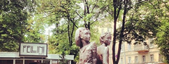 Петя и Гаврик is one of Одесская Гилелиада 2014.