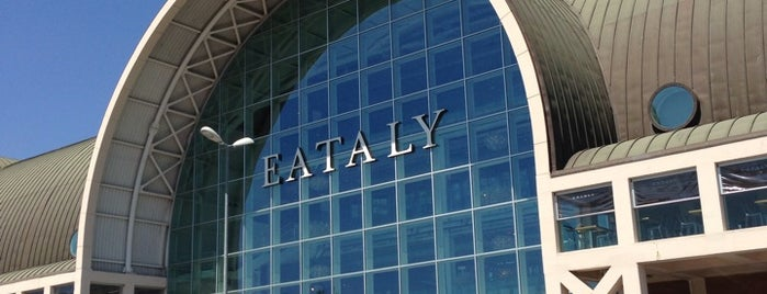 Eataly is one of Roma - a must! = Peter's Fav's.