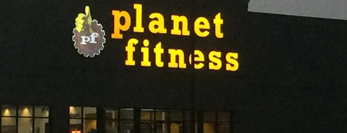 Planet Fitness is one of Melo'nun Beğendiği Mekanlar.
