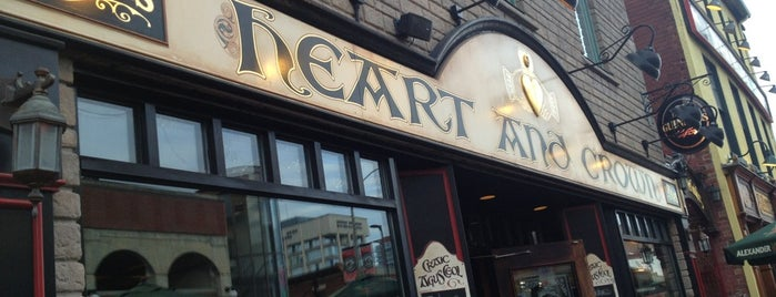 Heart & Crown - ByWard Market is one of Locais curtidos por Alan.