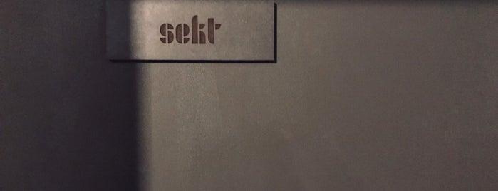Sekt is one of Krogkommissionen DN rekommenderar.