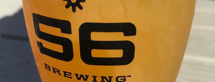 56 Brewing is one of สถานที่ที่ Kristen ถูกใจ.