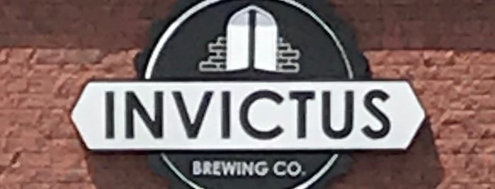 Invictus Brewing Co. is one of Locais salvos de Brent.