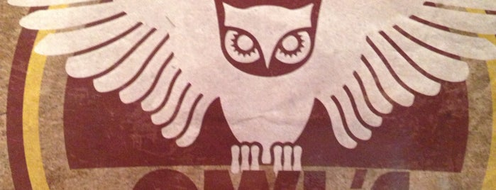 Owl's cafebar is one of Yerevan.