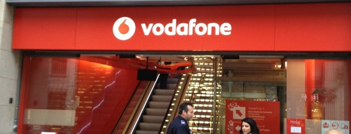 Vodafone is one of Barcelona.