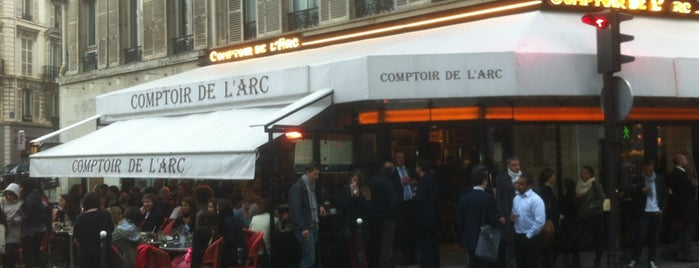 Le Comptoir de l'Arc is one of Paris delights.