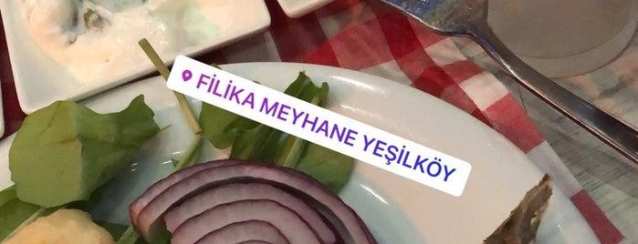 Filika Meyhanesi is one of สถานที่ที่ t ถูกใจ.