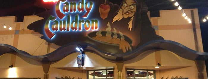 Disney's Candy Cauldron is one of Disney Springs.
