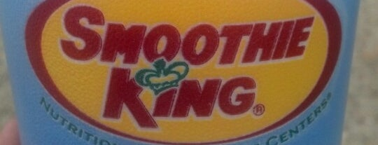 Smoothie King is one of Orte, die Amber gefallen.