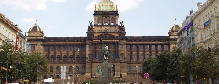 Wenceslas Meydanı is one of Five Essential Prague Sights.