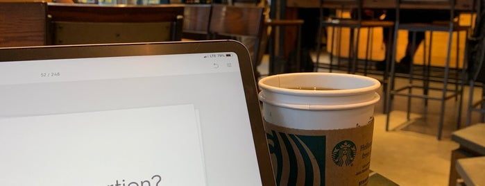 Starbucks is one of Erika : понравившиеся места.