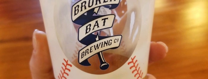 Broken Bat Brewing Company is one of Grub.