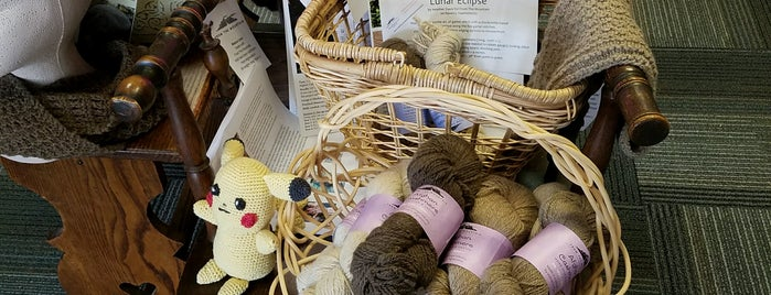 Mew Mew's Yarn Shop is one of Kristal's Liked Places.