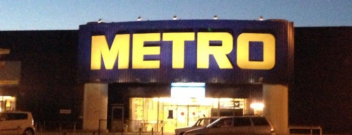 Metro Cash & Carry is one of Tempat yang Disukai Екатерина.