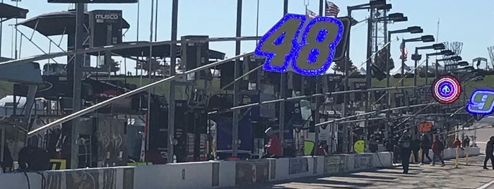 Kansas Speedway Pits is one of My NASCAR.