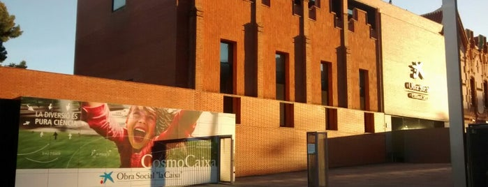 CosmoCaixa is one of barcelona • art.
