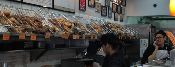 The Bagel Store is one of Tempat yang Disukai Dominic.